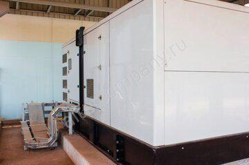 Установка генератора в подвале